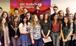 Dabster at the Radio 1 Academy